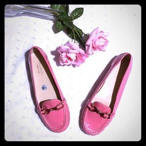 NWOT Talbots Pink Genuine Patent Leather Loafer